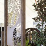 Boodle Concepts - Growth Rings garden screen