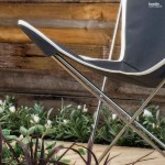 Butterfly chair. Boodle Concepts Landscape & Garden design in Flemington, Melbourne