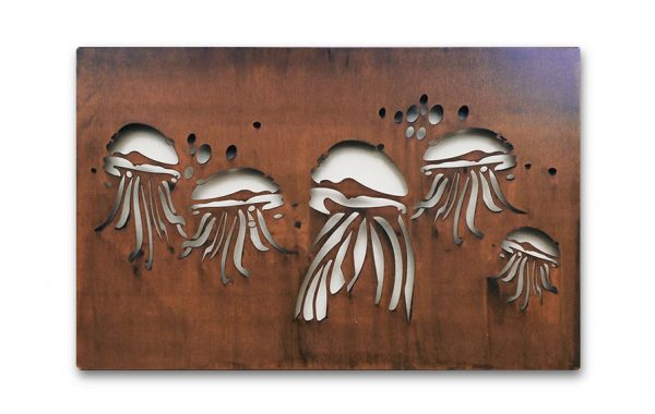 Jellyfish Bloom wall art