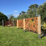 Boodle Concepts_metal laser cut steel fence melbourne