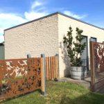 Boodle Concepts_metal laser cut steel fence_Rosebud Melbourne