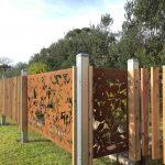 Boodle Concepts - metal laser cut steel fence, Rosebud Melbourne